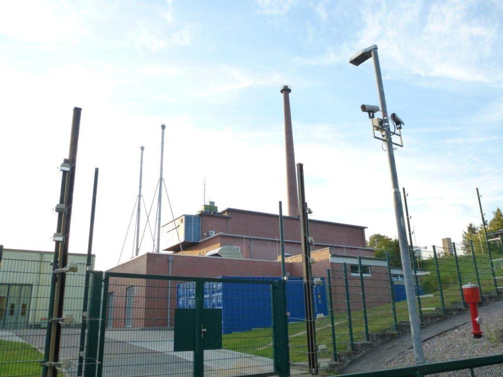 Die alte Reaktorhalle der GKSS, heute HZG. Foto: Dirk Seifert