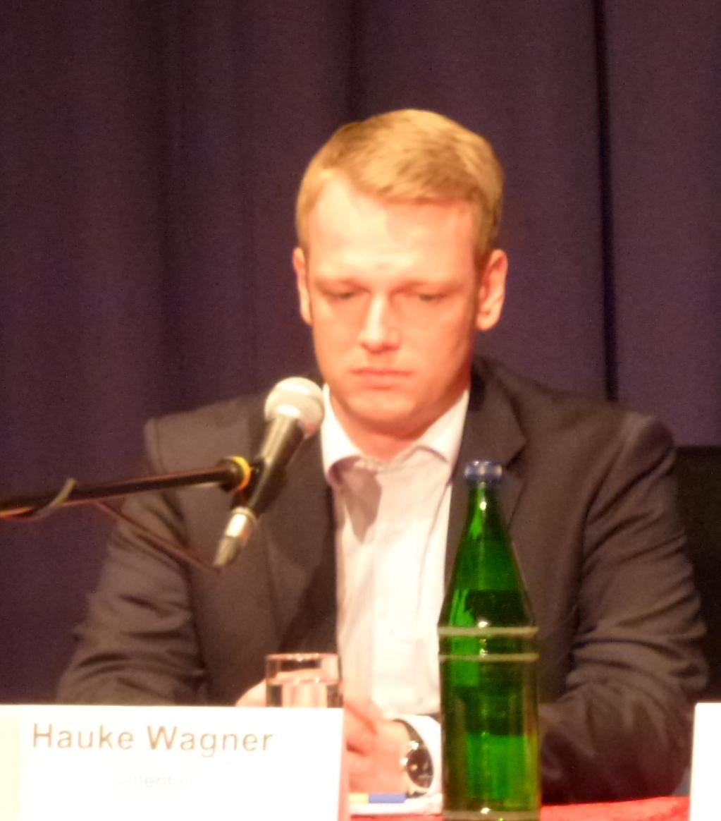 Hauke Wagner, Amtierendes SPD-Vorstandsmitglied und Vattenfall-Manager.