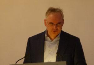 Kann sich freuen: Gute Gewinne mit dem Gasnetz Hamburg. Teysenn, Chef von E.on.