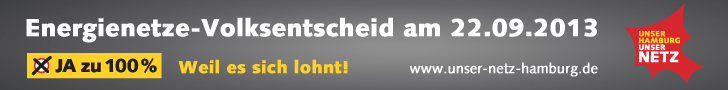 JA zu 100 Prozent: Künstler + Prominente für den Volksentscheid Energienetze Hamburg