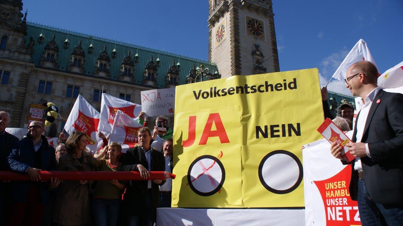 Wir sind Fernwärme – Hamburg setzt Volksentscheid gegen Vattenfall um: Tschüss Kohle kommt!