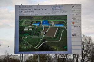 Uranfabrik Gronau: Atomanlage mit höchster militärischer Brisanz.