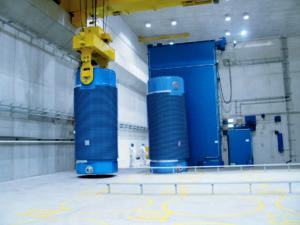 Hochradioaktiver Atommüll in Castor-Behältern am AKW Brunsbüttel:  Sicherheitsnachweise reichen nicht aus. Foto: Vattenfall
