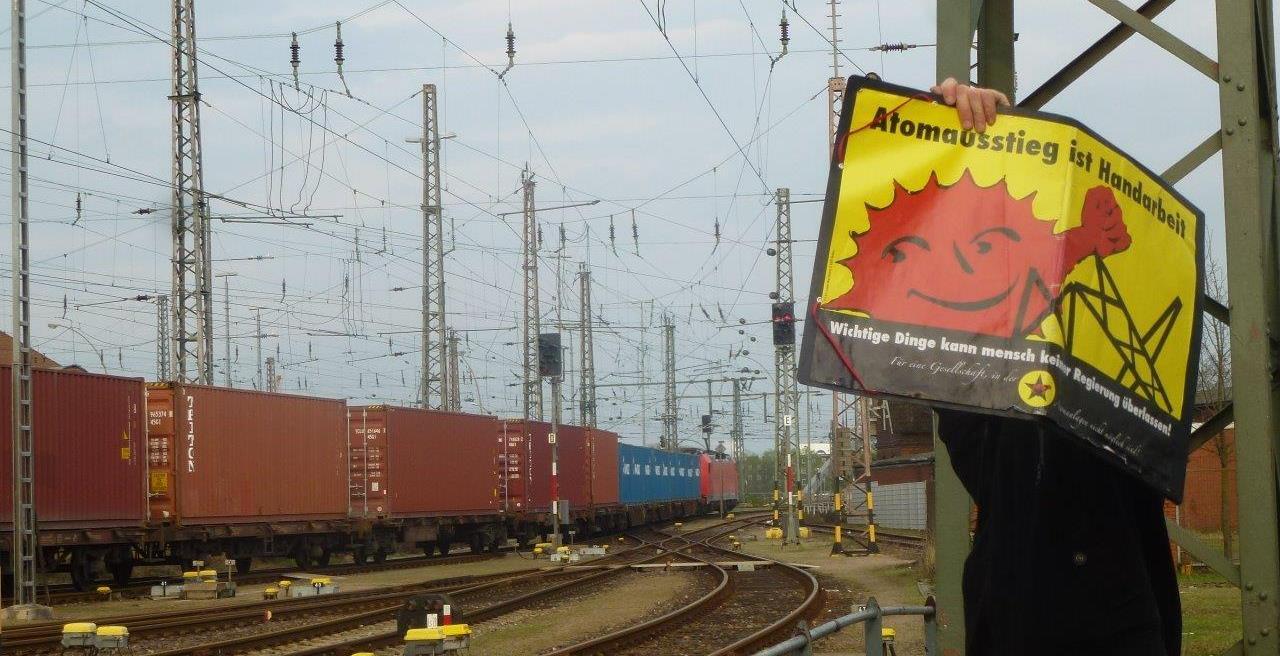 Atomdrehscheibe Hamburg: Radioaktive Weltreisen
