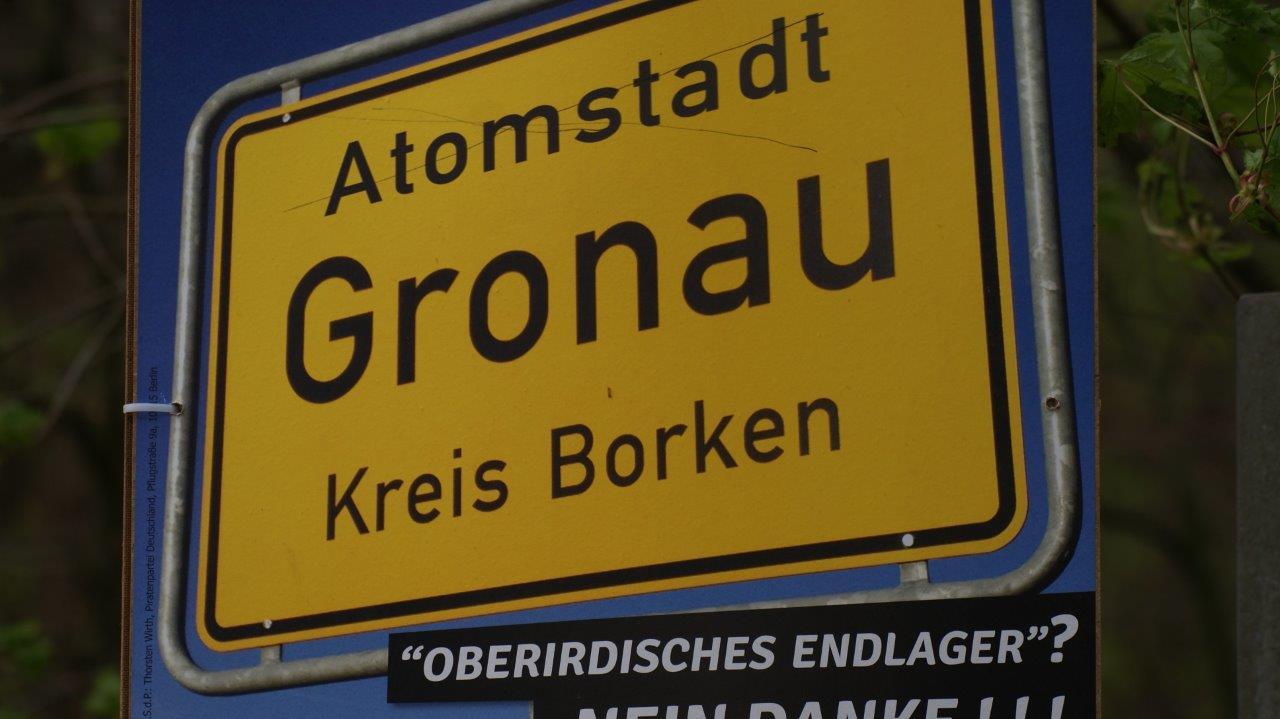 Atomstadt Gronau demnächst mit radioaktivem Urenco-Fußballpark ?