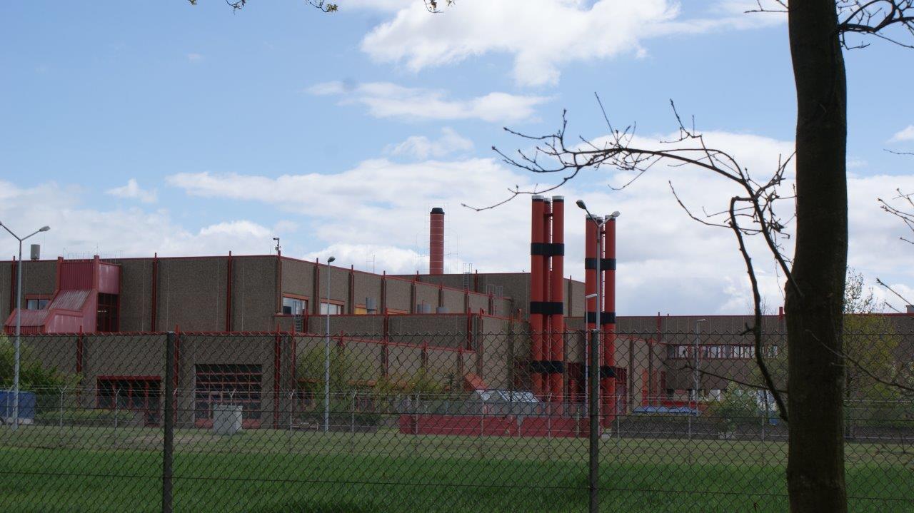 Fabrikationshalle der Uranfabrik in Gronau. Die Technik ist grundsätzlich auch in der Lage, waffenfähiges Uran herzustellen.
