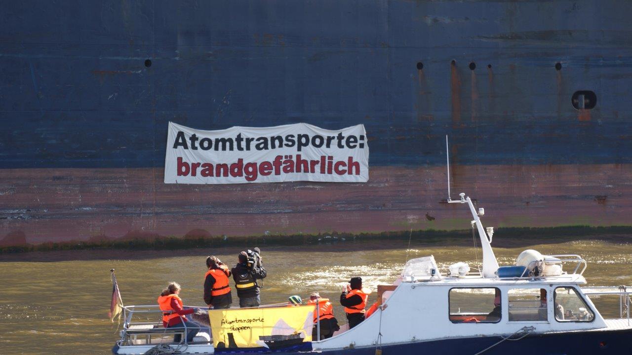 Atomtransporte Hamburg – Einschränkungen, aber weiter internationale Uran-Drehscheibe