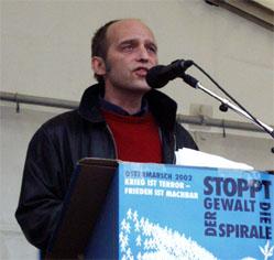 Mani Stenner. Foto Stefan Philipp/Redaktion ZivilCourage.