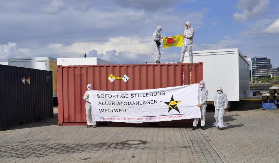 Atomtransporte Hamburg: Senat räumt Falschmeldung ein.