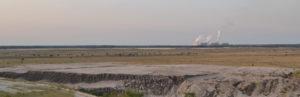 Umweltschutz made by Vattenfall - Wüstenlandschaften in der Lausitz. Foto: Uwe Hiksch