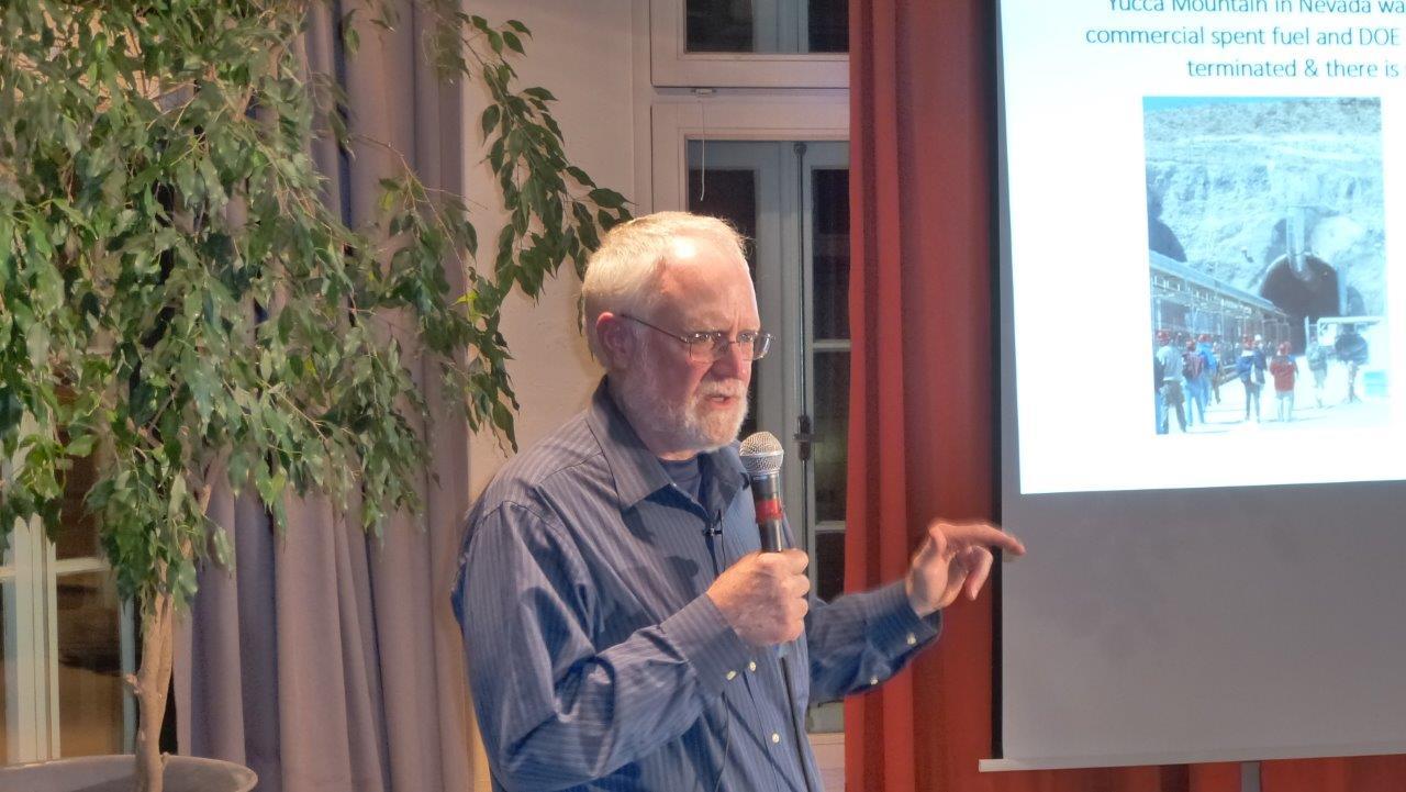 Atommüll-Alarm – Tatort Hamburg: Veranstaltung mit US-Aktivist Tom Clements über Jülich-Castoren und Atomtransporte