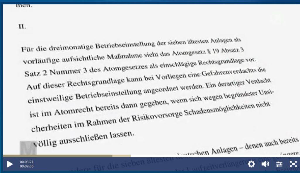 BMUanBetreiber-Moratorium-Betriebseinstellung-VorliegenEinesGefahrenverdachta