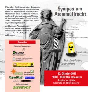 Atommuellrechtssymposium