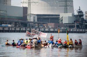 Ende Gelände für Vattenfall? Auch auf dem Wasser. Foto: Pay Numrich