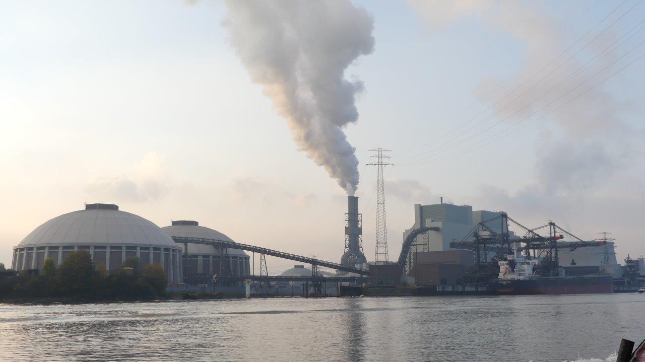 Vattenfall Kohlekraftwerk Moorburg Nov2015