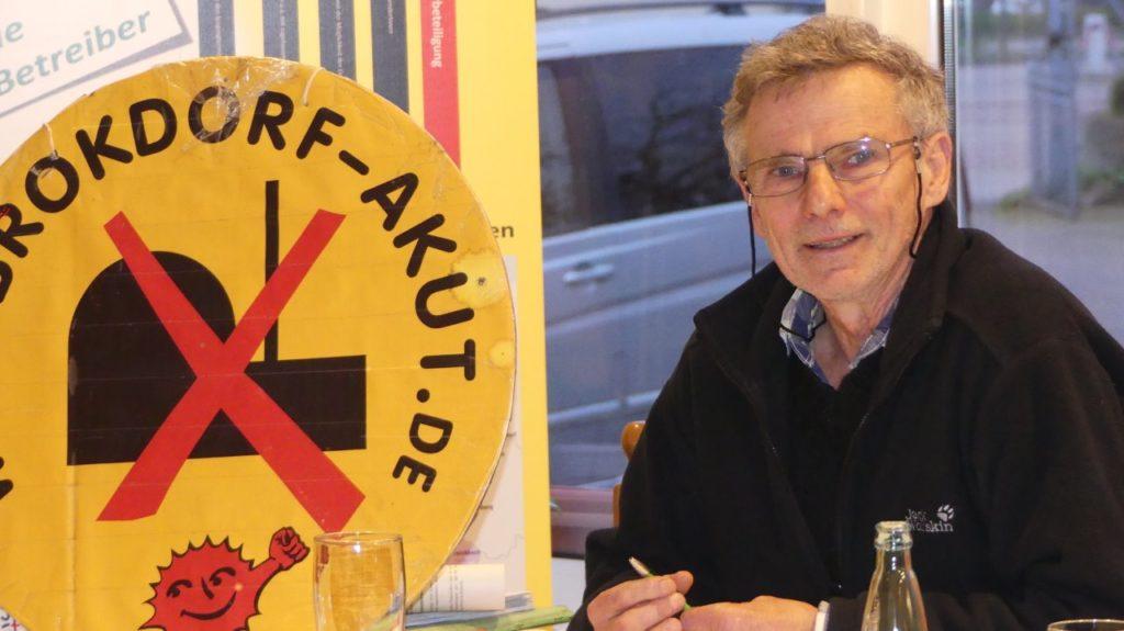 Dr. Karsten Hinrichsen: Anti-Brokdorf-Aktivist und Kläger für die Stilllegung des AKW.