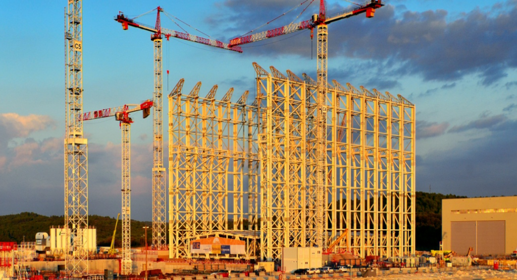 ITER-Baustelle in Südfrankreich: Sinnloses Milliardengrab. Foto: Betreiber