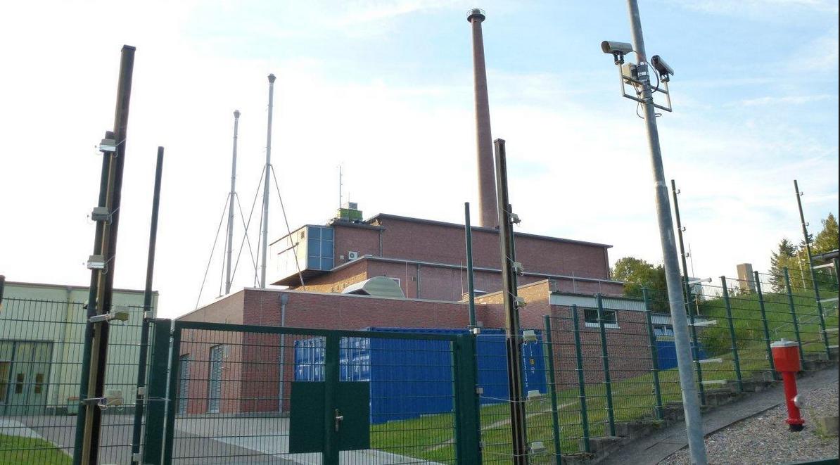 Reaktorgebäude der ehemaligen Atomforschungsanlage GKSS, heute Helmholtz-Zentrum Geesthacht (HZG)