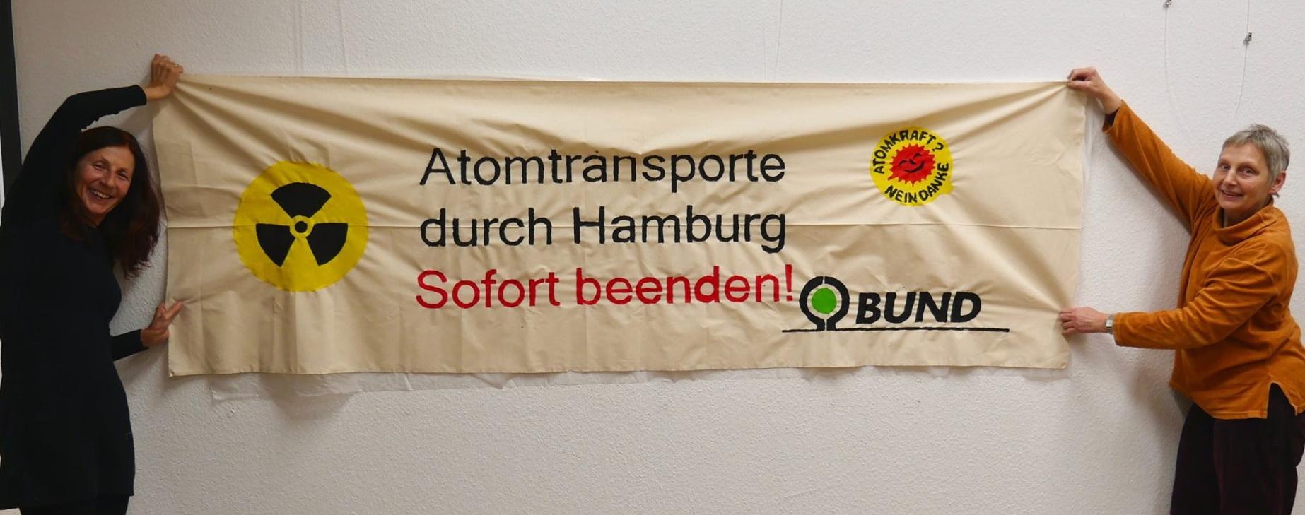 Atomtransporte Hafen Hamburg: Uran für Atommeiler in aller Welt