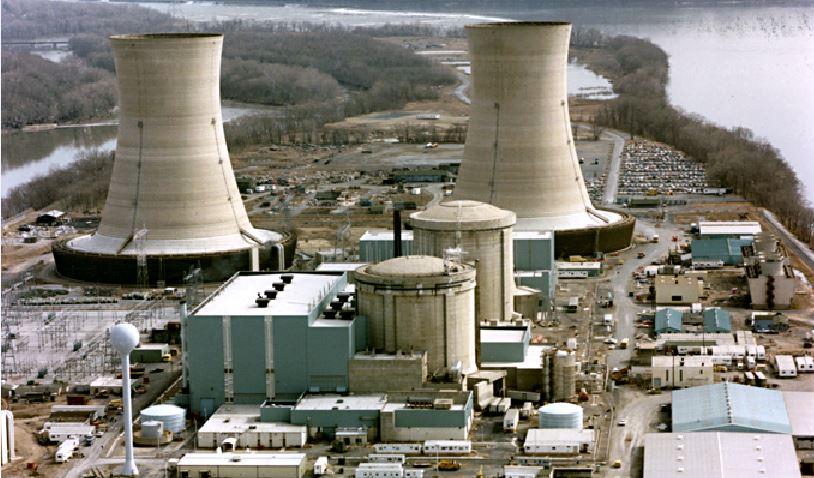 Atomstrom am Tropf: Staatshilfe oder Three Mile Island wird 2019 abgeschaltet