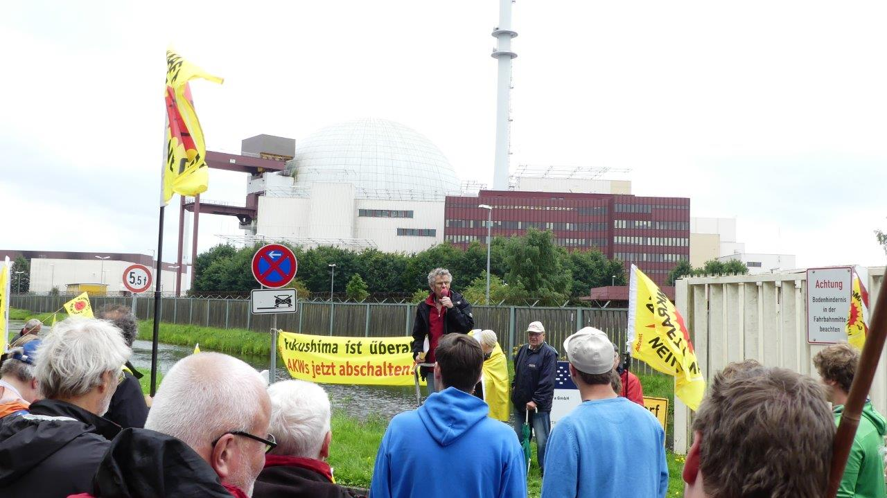 AKW Brokdorf Protest – Ursachenklärung für Rost-Brennelemente nicht abgeschlossen