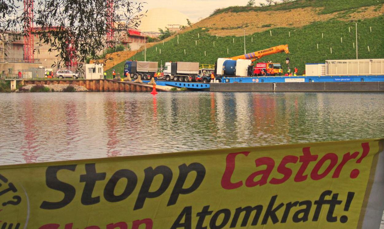 Castor-Transporte auf dem Neckar: Beschwerde vor Gericht erfolglos – der nächste Atomtransport steht an