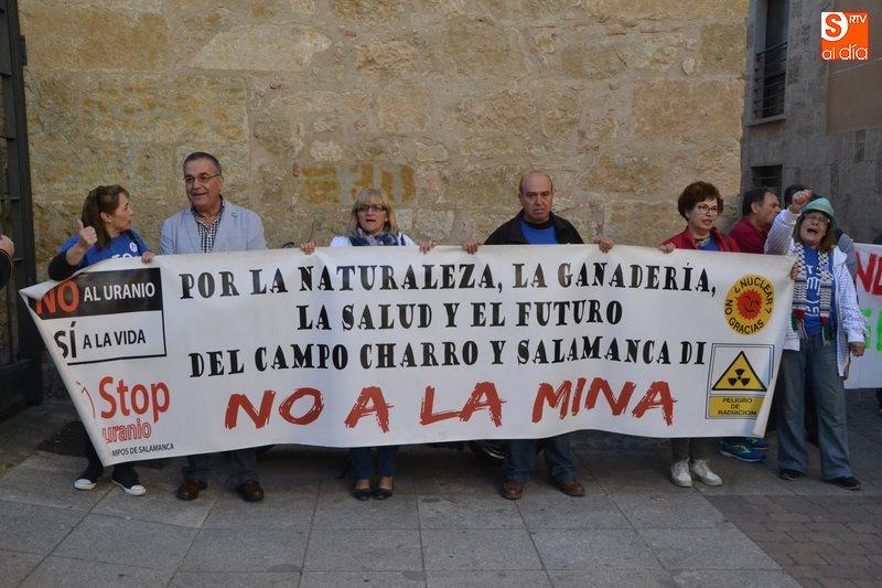 Uranbergbau in Spanien? Proteste in Salamanca