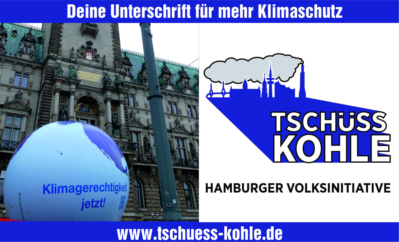 """Volksinitiative """"Tschüss Kohle"""" Hamburg: Evangelische Kirche weitet Unterstützung aus"""