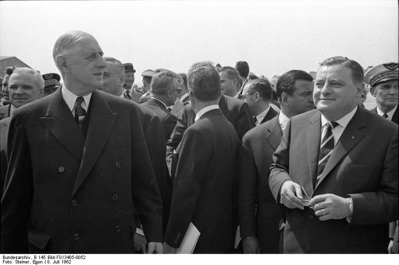 Spurensuche Franz Josef Strauß: Militärische Ambitionen beim deutschen Einstieg in die Atomenergie