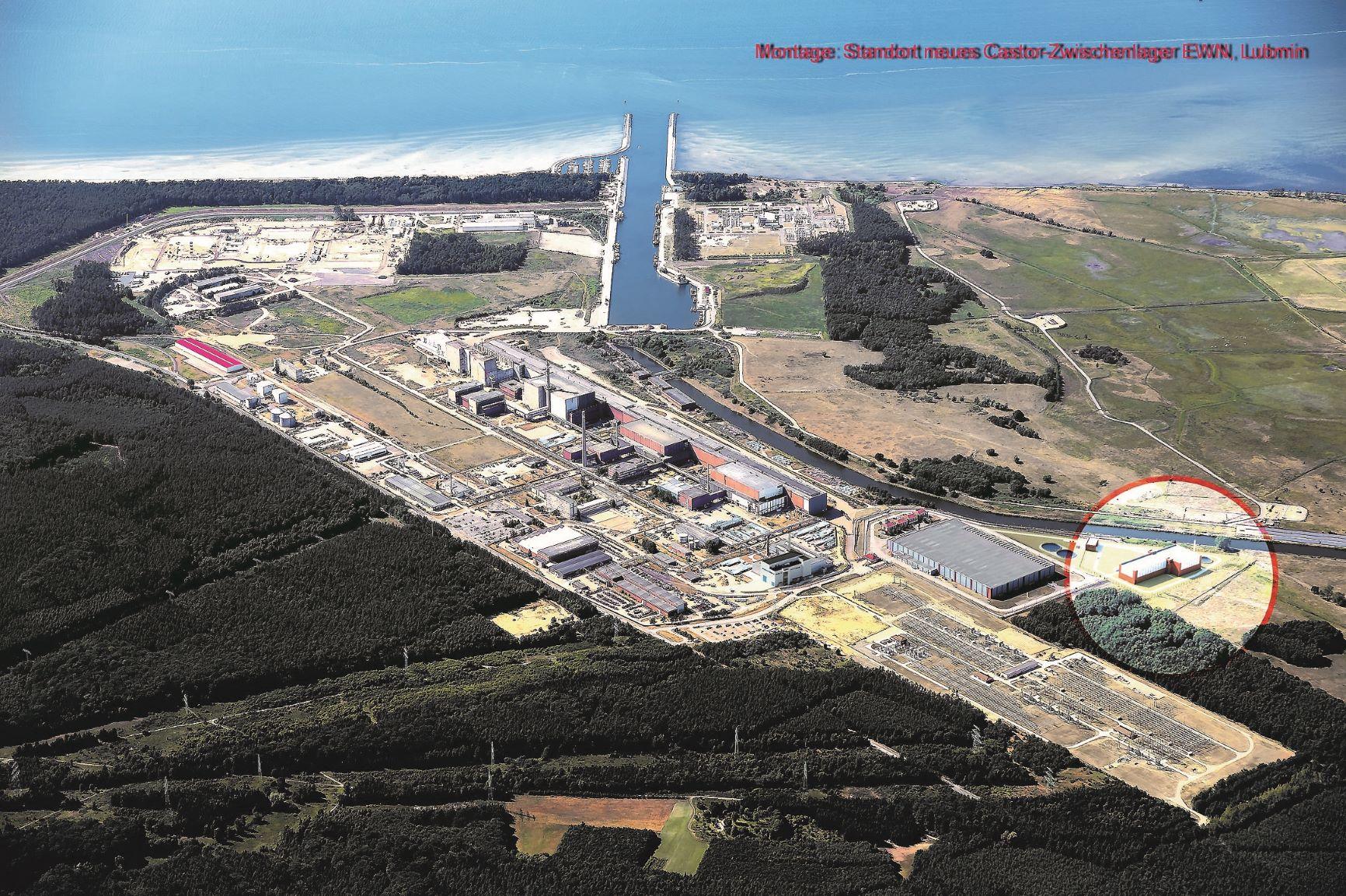 Atomare Neubauten Standort Lubmin: Heiße Zelle als Option – Neue Atommüll-Lagerhallen in Planung und Bau