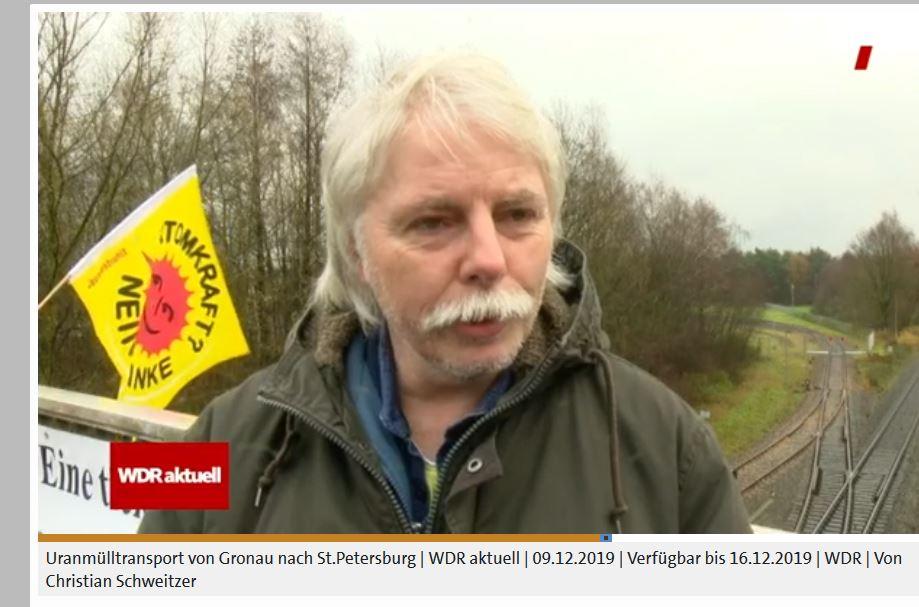 Uran-Müll-Proteste nicht nur bei URENCO in Gronau