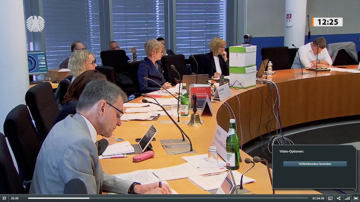 Hochradioaktive Endlagerung: Bundestags-Anhörung über Anforderungen an die Sicherheit
