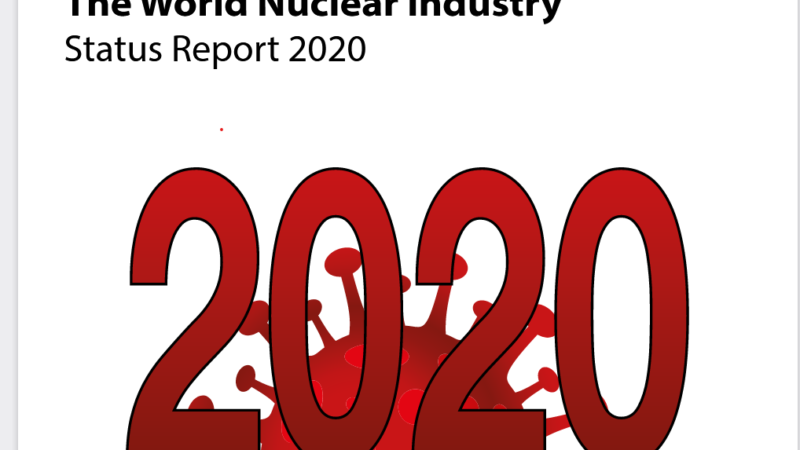 Erneuerbare überholen Atomstrom: World Nuclear Industry Status Report 2020
