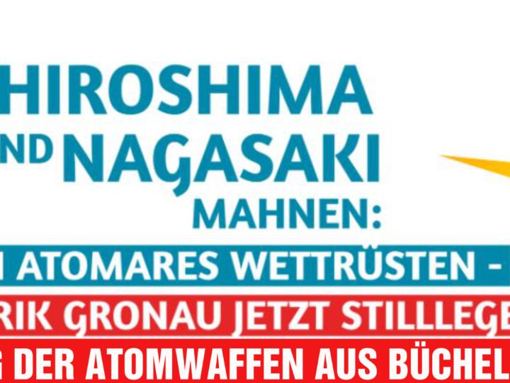Atomausstieg: Gronau, Lingen, Büchel