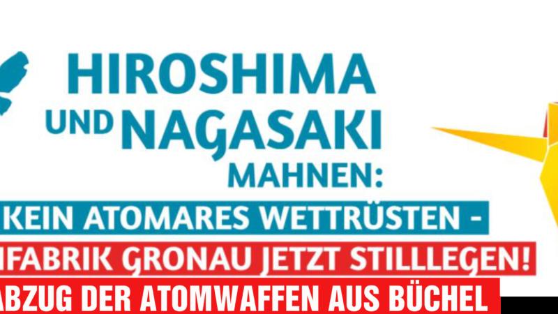 Atom(waffen)ausstieg: Kriegswaffengesetz und deutsche Beteiligung an Forschung und Entwicklung von Atomwaffen?